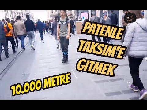 PATENLE TAKSİME GİTME  !!!   UZUN YOL VLOG