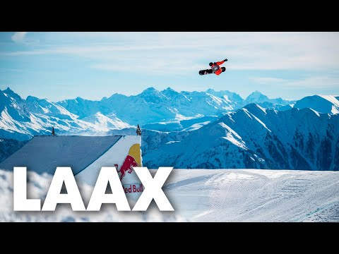 How Laax became one of the world's best snow parks | Frozen Playground Switzerland