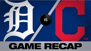 5-run 2nd Lifts Indians Past Tigers | Tigers-Indians Game Highlights 7/16/19