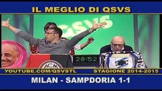 preview picture of video 'QSVS - I GOL DI MILAN-SAMPDORIA 1-1 - TELELOMBARDIA / TOP CALCIO 24'