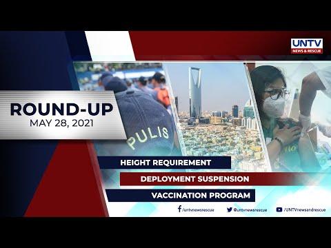 [UNTV]  UNTV NEWS ROUNDUP: Mga balitang dapat mong malaman (May 28, 2021)