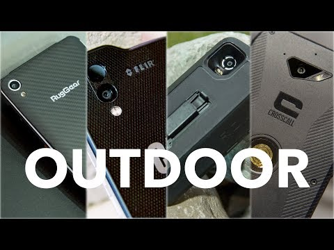 Outdoor-Smartphones im Vergleich: CAT S61 / Land Rover Explore / Ruggear RG850 / Crosscall Action X3