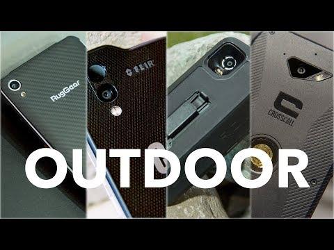 Outdoor-Smartphones im Vergleich: CAT S61 / Land Rover Explore / Ruggear RG850 / Crosscall Action X3