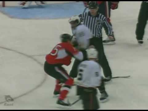 George Parros vs Chris Neil