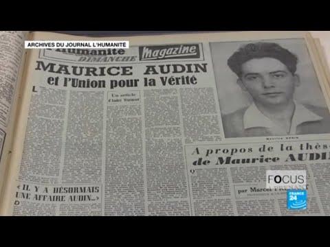 Macron admits French guilt in torturing activist in Algeria war