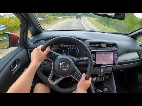 2022 Nissan Leaf SL Plus - POV Test Drive (Binaural Audio)