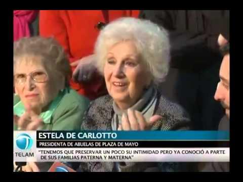 <p>El 7 de agosto se realizó la conferencia de prensa de la restitución de Pablo Javier Gaona Miranda, hijo de María Rosa Miranda y Ricardo Gaona Paiva, y que fue secuestrado junto con sus padres el 14 de mayo de 1978 cuando tenía solamente un mes de vida.</p>