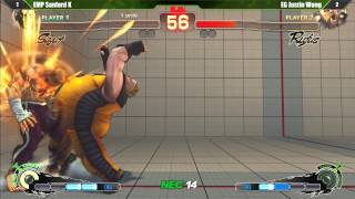 AE2012 EG Justin Wong vs EMP Sanford Kelly Exhibition - Northeast Championships 14