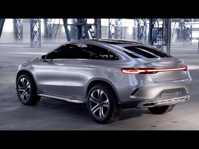 NEW Mercedes Concept Coupé SUV