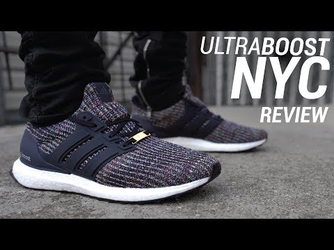 ADIDAS ULTRA BOOST 4.0 MULTICOLOR NYC REVIEW & ON FEET