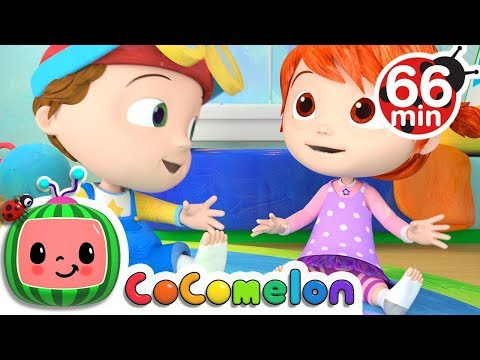 The Socks Song | +More Nursery Rhymes & Kids Songs - Cocomelon (ABCkidTV)