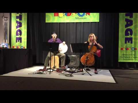 Hasenpflug Duo live performance of music by Adam Hurst