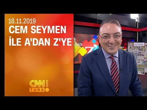 A'dan Z'ye 18.11.2019 Pazartesi