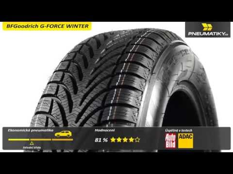 Youtube BFGoodrich G-FORCE WINTER 225/55 R17 101 H XL Zimní