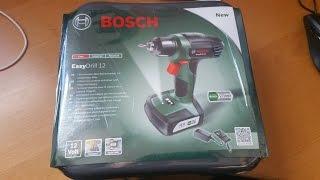 Produkttest Bosch EasyDrill 12