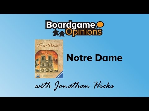 Boardgame Opinions: Notre Dame