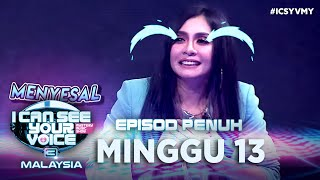 [FULL] I Can See Your Voice Malaysia (Musim 3) | Minggu 13 - Zizi Kirana