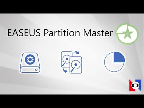 EaseUS Partition Master per gestire e partizionare i dischi