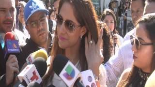 La viuda de Joan Sebastian Alina Espin de Figueroa