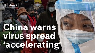 Coronavirus spread is 'accelerating' says China as death toll rises to 41