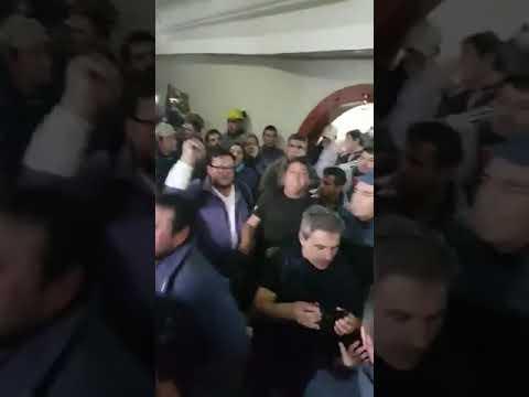 """El Astilleros está que arde y persiste el malestar por la frase """"hay que dinamitarlo"""". Video"""
