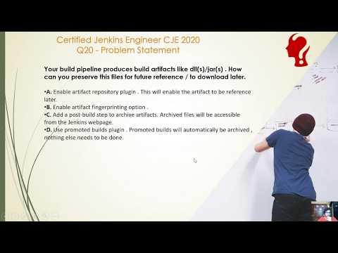 Certified Jenkins Engineer CJE 2020 Exam Practice Question 20 ...