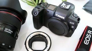Canon EOS R + EF Lens Adapter Unboxing