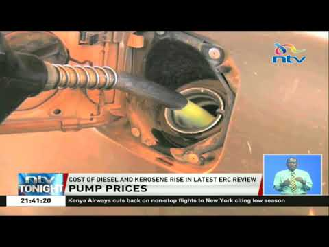 Cost of diesel and kerosene rise in the latest ERC review