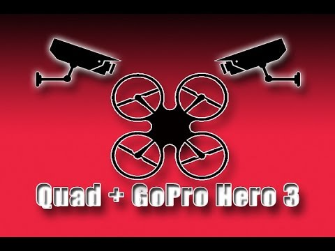 Quadcopter + GoPro Hero 3
