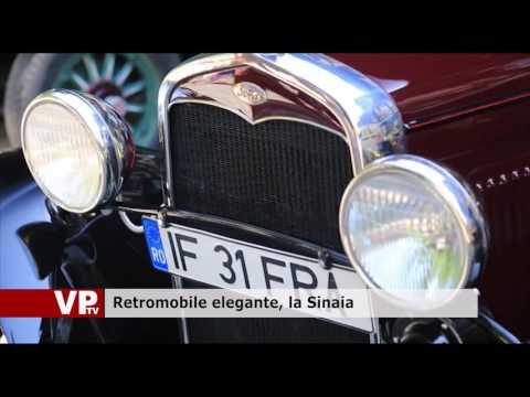 Retromobile elegante, la Sinaia