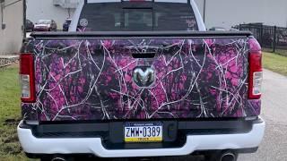Muddy Girl Camo Wrap- Grass & Cattails Truck Kit By PowerSportsWraps.com