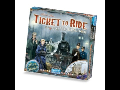 Ticket to Ride Pennsylvania - How to play