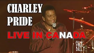 CHARLEY PRIDE – LIVE IN CANADA!