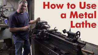 How to Use a Metal Lathe - Kevin Caron