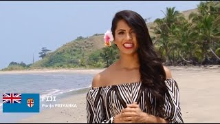 Pooja Priyanka Contestant from Fiji for Miss World 2016 Introduction