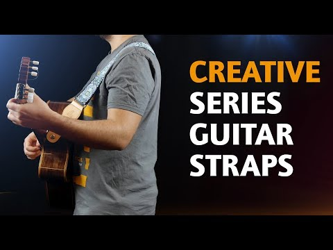 ORTEGA GUITARS | COTTON STRAPS FOR GUITAR (CREATIVE SERIES)