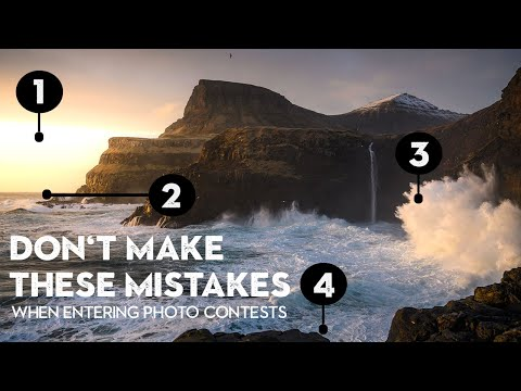 Mistakes to Avoid When Entering Photo Contests