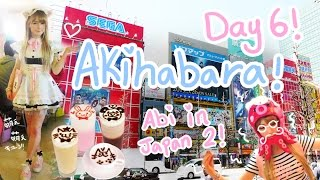 I BECAME A MAID?!? | Day 6 - AKIHABARA | Maid Café's | Donkihote~!!♪ | Abipop in Japan 2015 ♡
