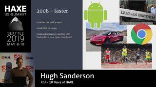 XhX: 10 Years of Haxe - Hugh Sanderson