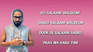 As Salaam Walekum Lyrics | Emiway Bantai   - YouTube