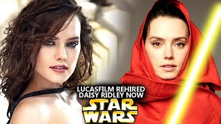 Lucasfilm Just Rehired Daisy Ridley Now! This Is HUGE (Star Wars Explained)