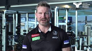 Nathan Buckley on finding support