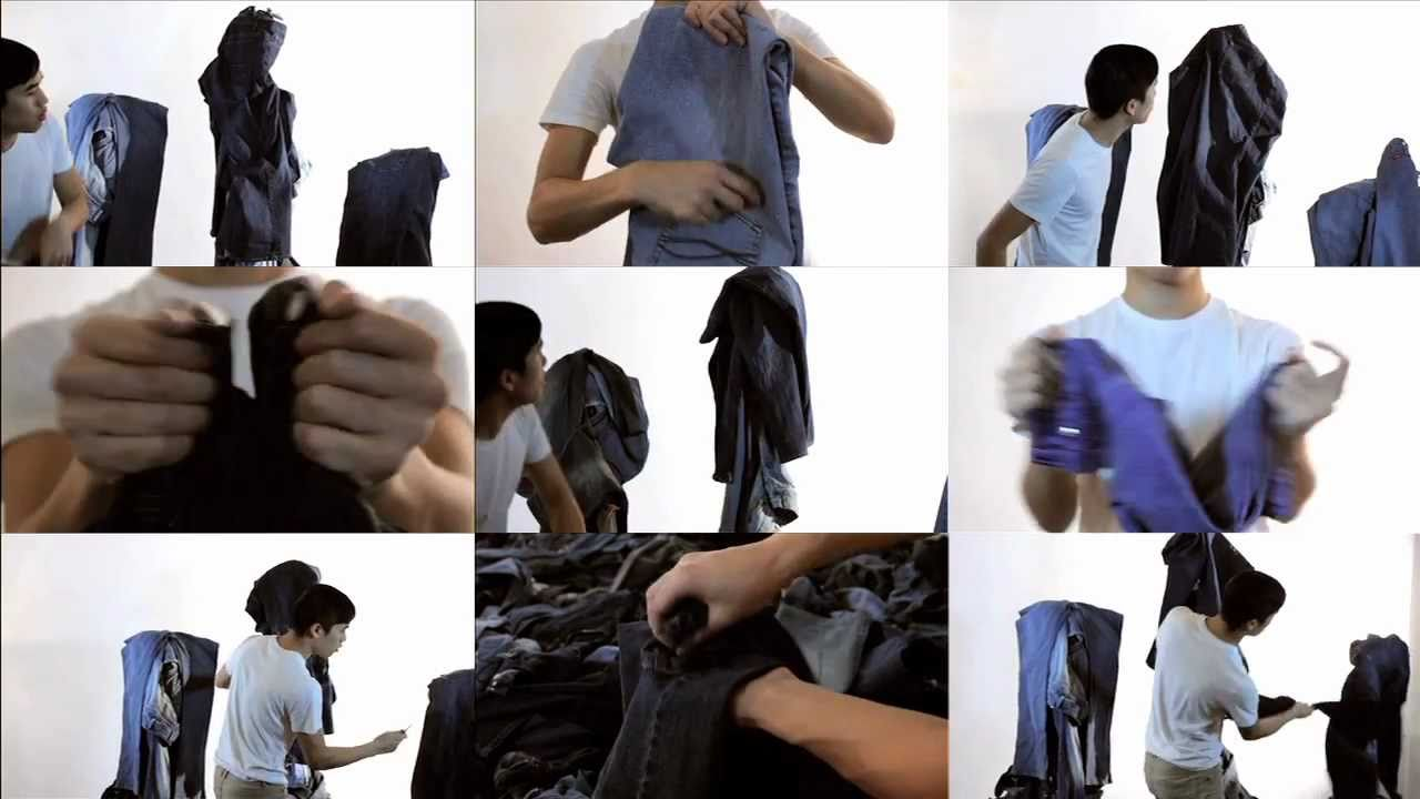 Watch A Guy Make Music With 1000 Pairs Of Jeans