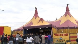 """Circus performer injured during stunt on """"Wheel of Death"""""""