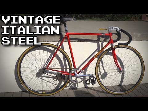 Rare 1980's Somec Track Bike | Fixed Gear Bike Check