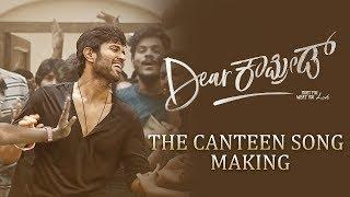 gratis download video - Dear Comrade Kannada - Canteen Song Making | Vijay Deverakonda | Rashmika | Bharat Kamma