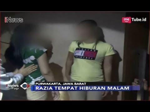 Razia Tempat Hiburan Malam di Purwakarta, Petugas Amankan 11 Pengunjung - iNews Pagi 10/12