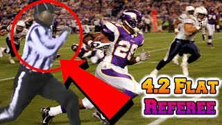 The Mystery Referee That Can OUTRUN Any NFL Player