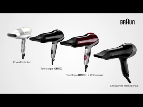 BRAUNSatin Hair 3 HD 380 PowerperfectionBianco