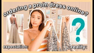 PROM DRESS SHOPPING 2019 Online Edition!? | HIT OR MISS?  Hebeos Prom Dress Review